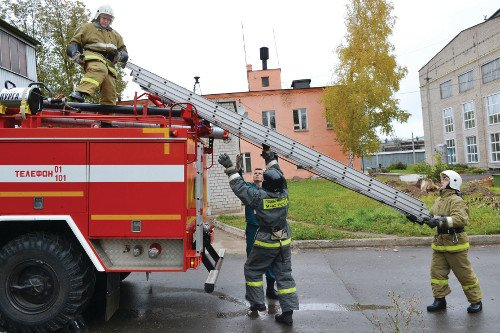 Пожарные «АВИТЕКА» — готовы ко всему!