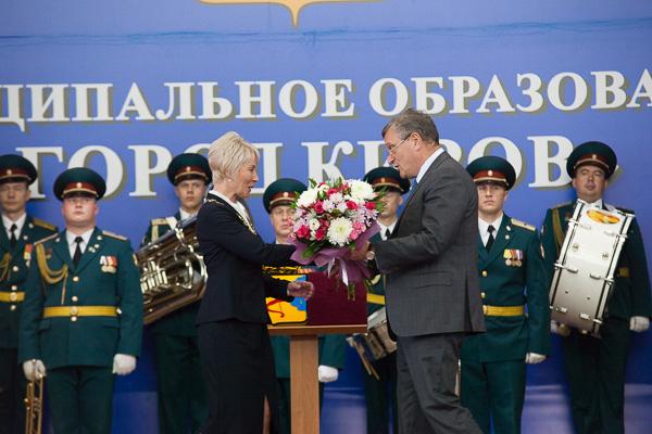 Инаугурация Елены Ковалевой (фото)