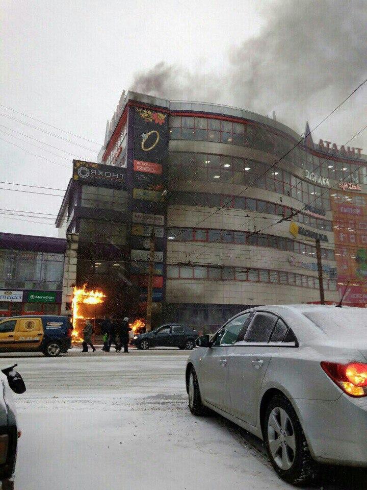 Возгорание в «Атланте»