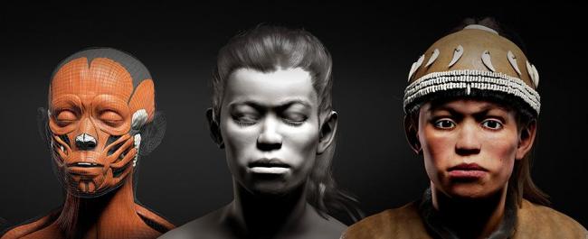 6 октября в МГУ покажут реконструкцию внешности 30 000-летних Нomo sapiens