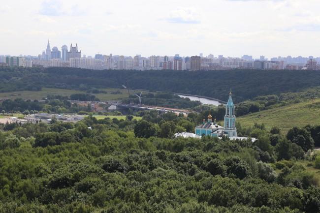 В Москворецком парке появятся новые зеленые насаждения