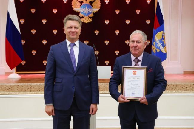 Сотрудник аэропорта «Внуково» представлен к государственной награде