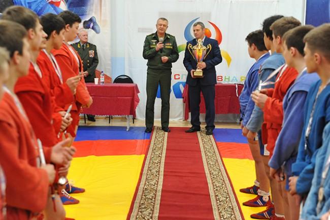 В школе «Борец» прошёл 10-ый Кубок Командующего космическими войсками