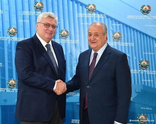 Делегация МГИМО нанесла дружеский визит в Узбекистан