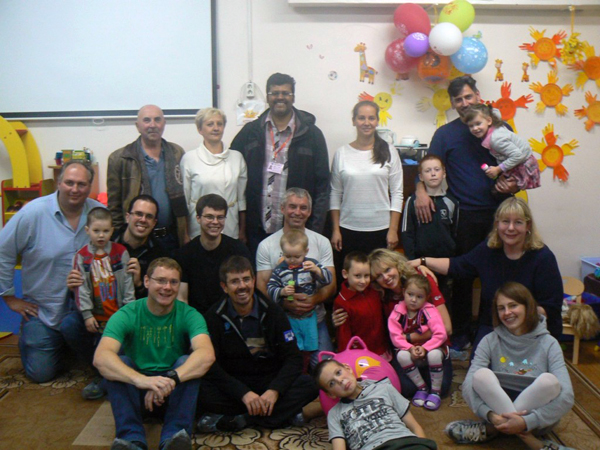 Волонтеры центра Хруничева посетили Плесецкий социально-реабилитационный центр для детей