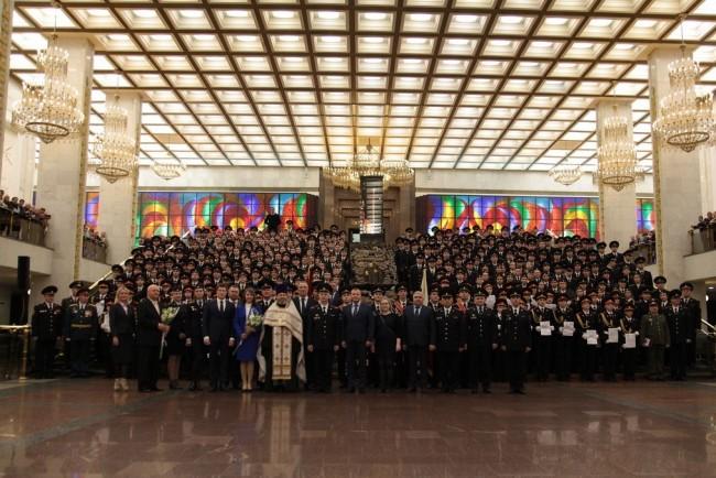 В Зале Славы Музея Победы состоялось принятие Торжественного обещания и Клятвы кадета