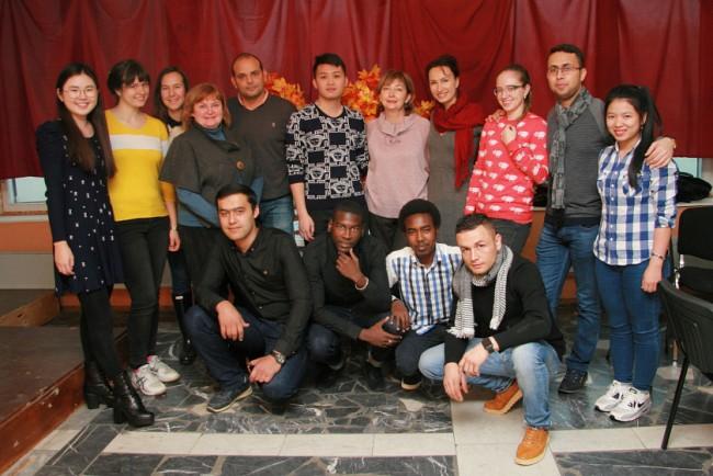 Иностранные студенты МТУ приняли участие в литературно-музыкальном вечере «Осень золотая»