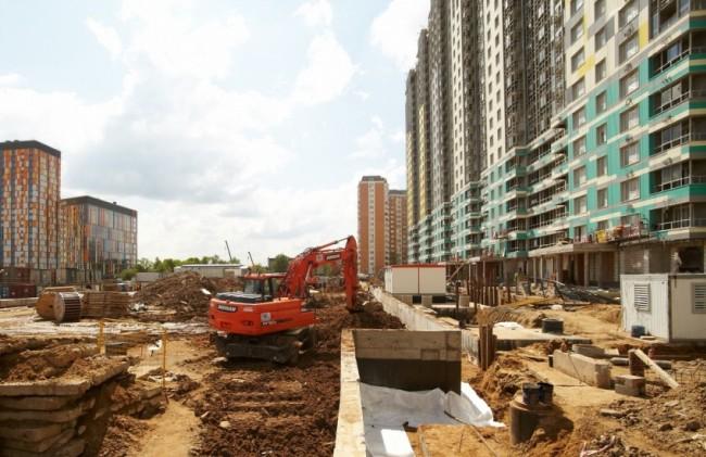 На западе столицы с начала 2017 года сдано почти 900 тыс. кв. м. недвижимости