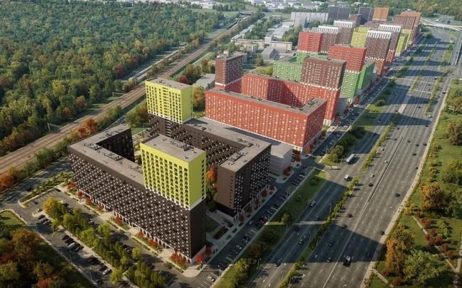 На западе столицы в составе жилого комплекса «Мещерский лес» будет построено два новых корпуса
