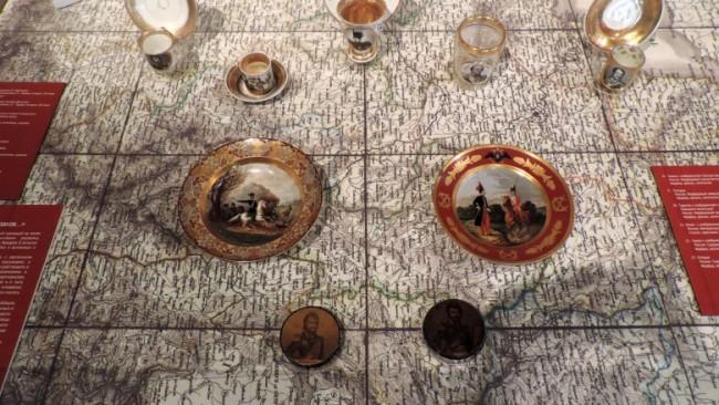 В «Бородинской битве» открылась выставка, посвящённая казакам