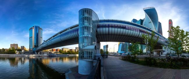 Три моста ЗАО в топе-7 самых красивых в столице
