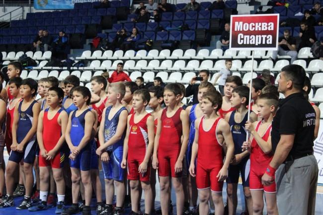 В ДС «Динамо» в Крылатском прошёл турнир по греко-римской борьбе «Спорт против наркотиков»