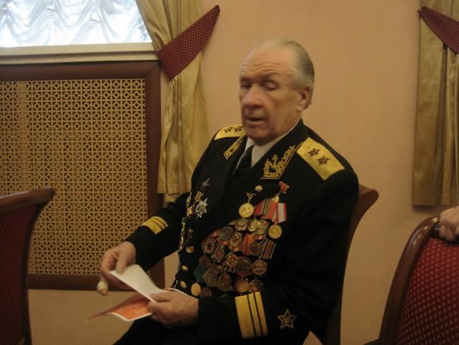 Ветеран Великой Отечественной войны Кир Георгиевич Лемзенко отмечает в эти дни свой 85-летний юбилей