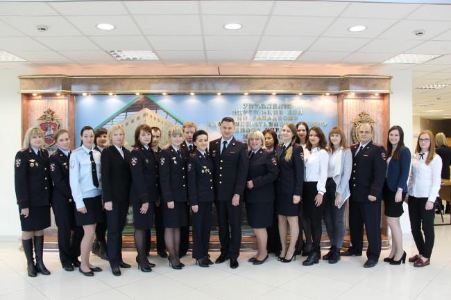 В УВД по Западному округу поздравили сотрудников кадровых подразделений с Днем образования службы