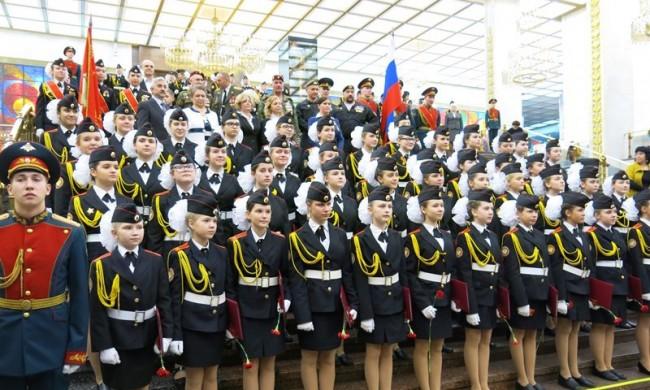20 октября в Музее Победы примут присягу воспитанницы ГБОУ КШИ №9
