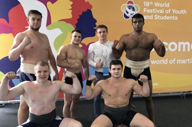 Школа «Борец» на XIX Всемирном фестивале молодежи и студентов в Сочи