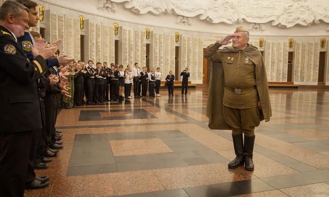 В Музее Победы отметили «День в музее для российских кадет»