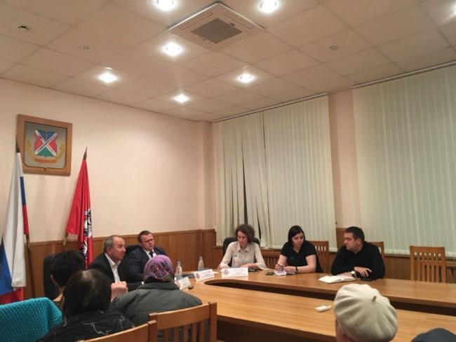 Глава Управы Можайского Сергей Девятов встретился с жителями района