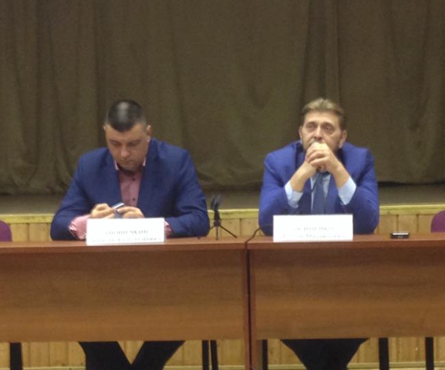 Глава Управы Филёвского парка Руслан Осипенко встретился жителями района