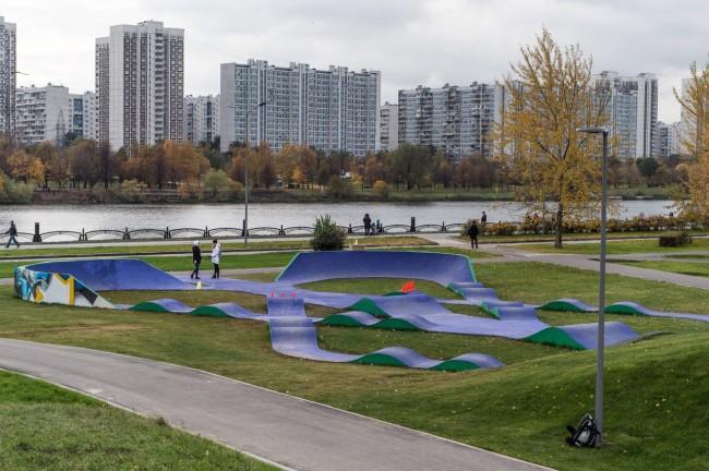 После благоустройства вновь открылся парк 850-летия Москвы в Марьино