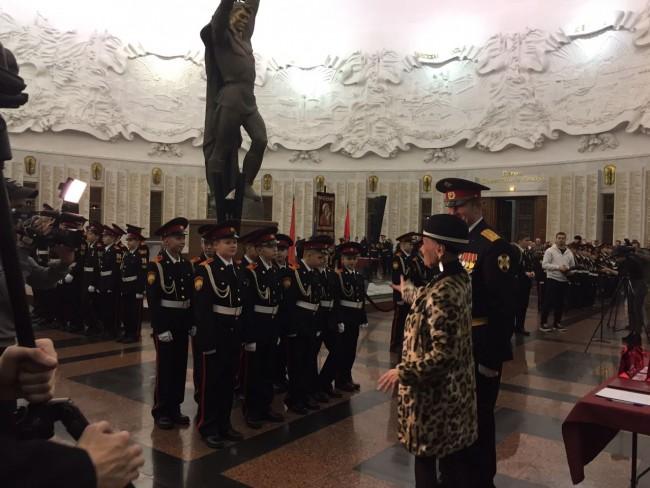 Правнук Светланы Светличной стал кадетом в Музее Победы