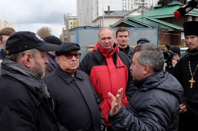 В ЗАО пошли  совещания на объектах программы «200 православных храмов»