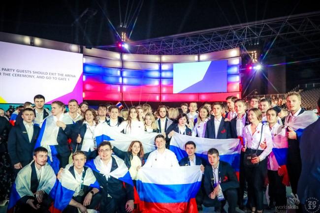 Москвичи принесли в копилку сборной России 4 из 11 медалей на чемпионате мира по профессиональному мастерству WorldSkills