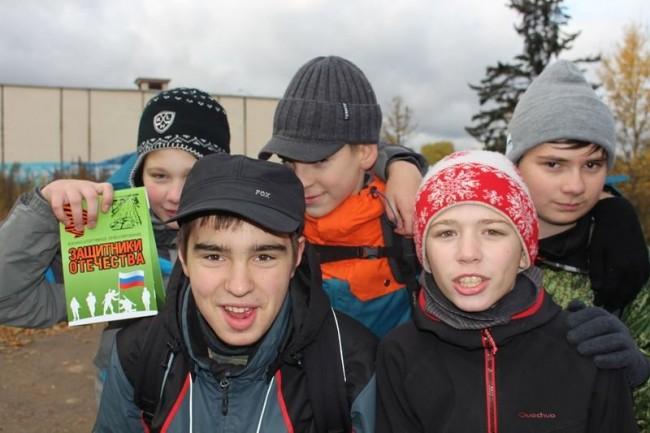 Команда «Георгиевцы» на игре «Защитники Отечества»