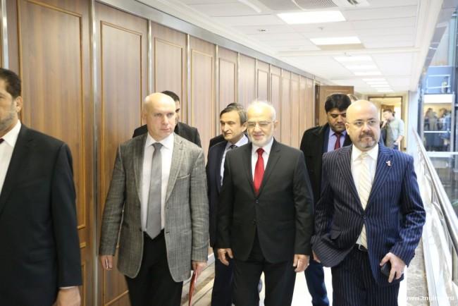 Министр иностранных дел Ирака выступил перед студентами МГИМО