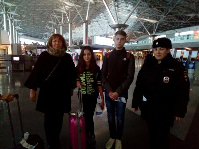 В аэропорту Внуково проходит оперативно-профилактическое мероприятие «Безопасная дорога»