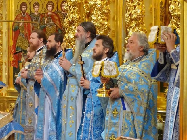 В храме Иверской иконы Божией Матери прошел престольный праздник