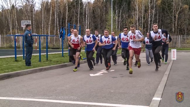 Пожарный ЗАО стал бронзовым призёром соревнований