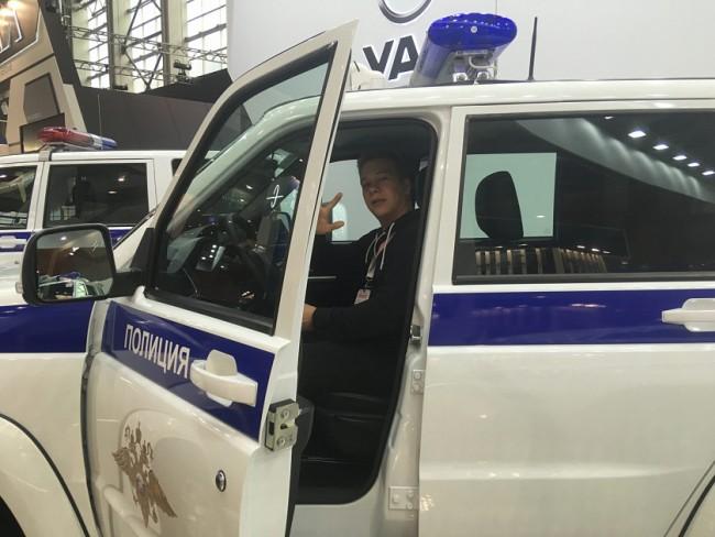 Студенты МТУ посетили XXII Международную выставку средств обеспечения безопасности государства
