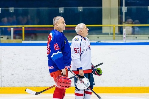 Товарищеский хоккей