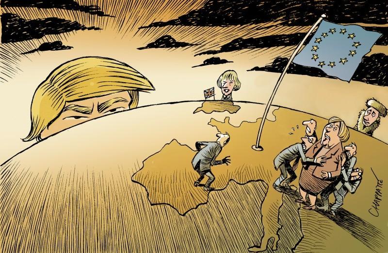 Гудят стропила европейской геополитики