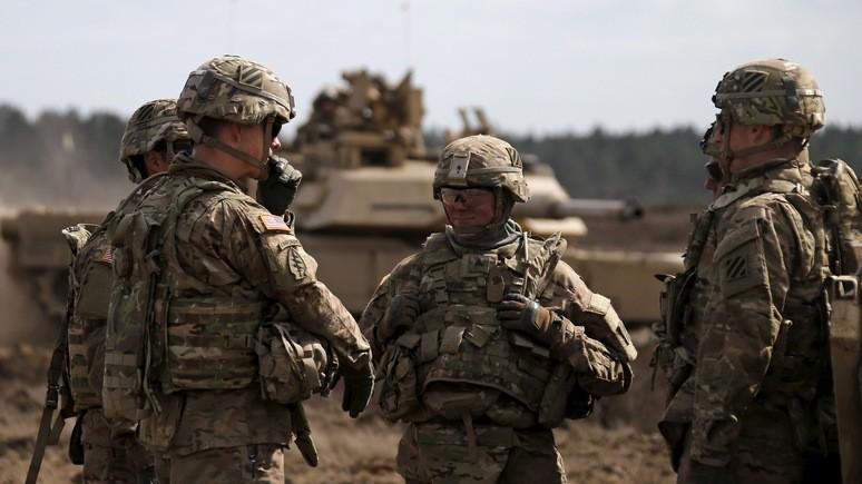 Tagesspiegel: американские военные в Европе предпочитают не уточнять, кого именно они устрашают