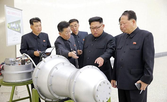 Угрозы Кима, написанные кириллицей