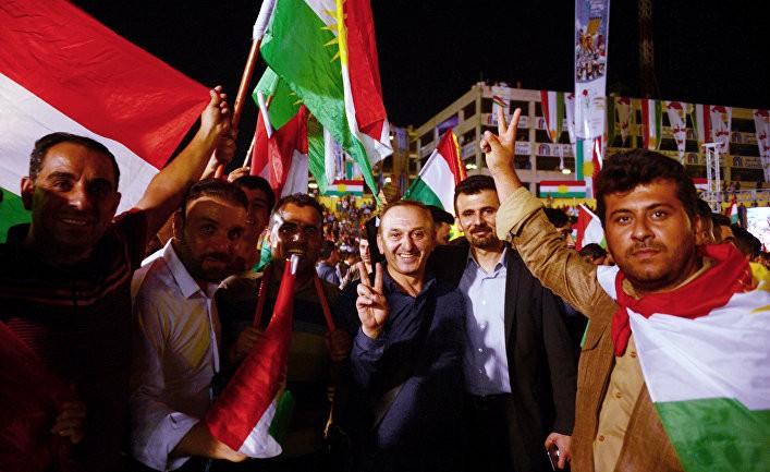 Россия поддерживает Курдистан