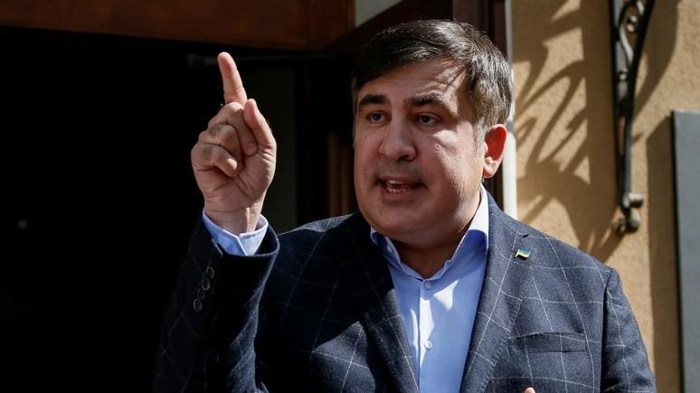 Саакашвили: нужно поменять власть в Киеве