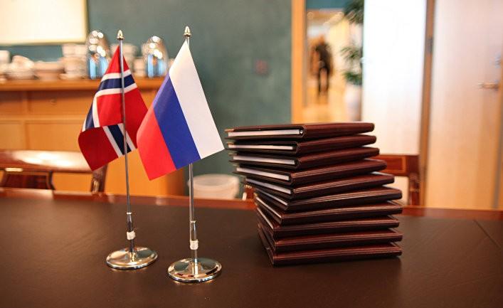 Россия обвиняет норвежцев во лжи