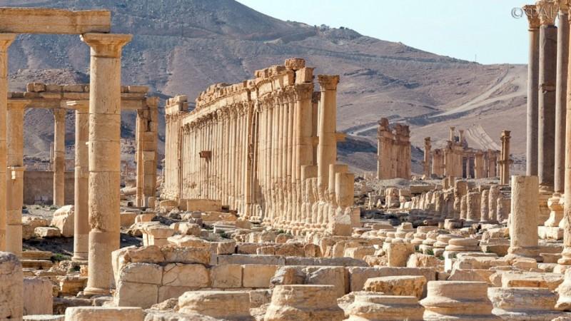СМИ: древний лев Пальмиры спасен от рук ИГИЛ и возвращен к жизни в Дамаске