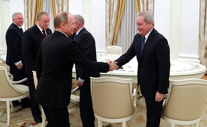 Путин назначает новых губернаторов