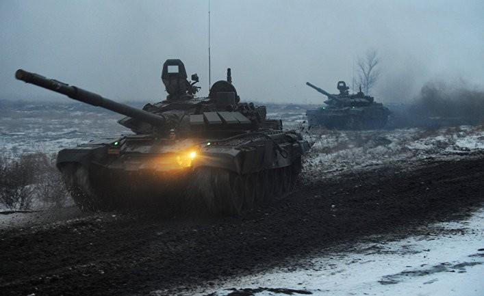 Грозит ли Киеву атака танков?