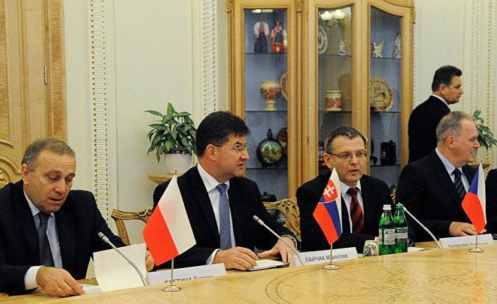 Развалит ли Украина «Вышеградскую четвёрку»