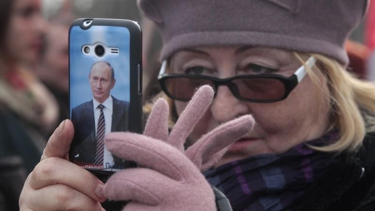 Немецкий эксперт: «отец нации» Путин ещё долго будет бессменным