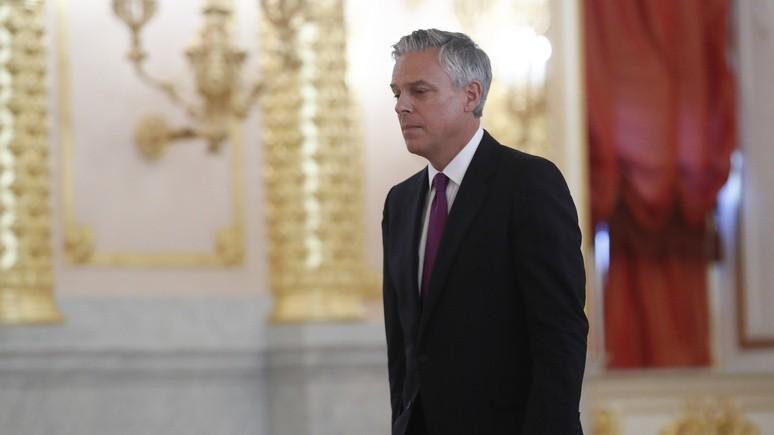 Новый посол США в России: моя главная задача — восстановить доверие между Москвой и Вашингтоном