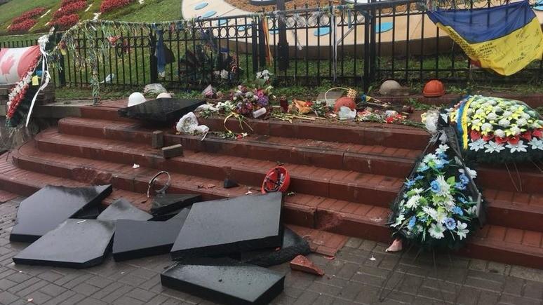 СТРАНА.ua: за разбитый памятник «небесной сотне» севастопольцу грозит реальный срок