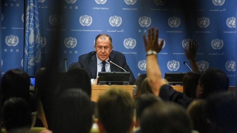 Independent: Лавров предостерёг США от обострения конфликта с Северной Кореей