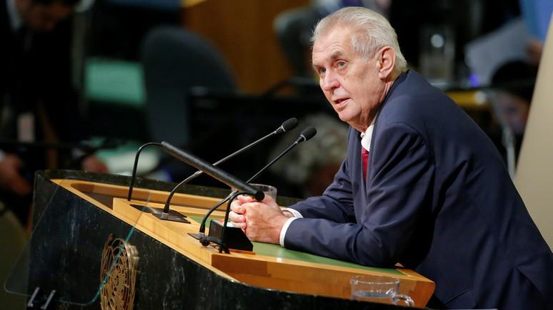 Radio Free Europe: президенту Чехии отказали в праве признать Крым российским