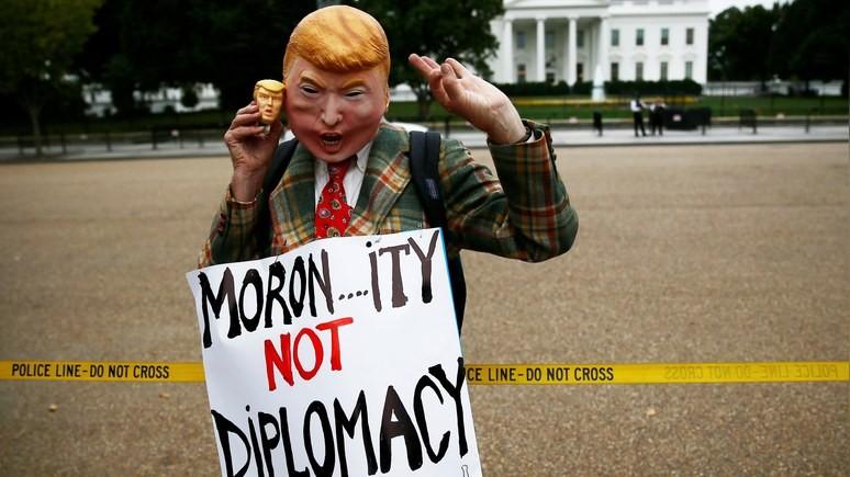NYT: позиция Трампа по ядерному соглашению с Ираном пришлась не по нраву Европе